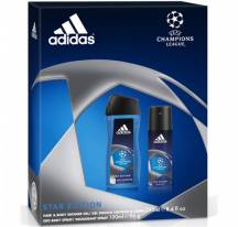 Adidas shower Gel + deo champions League