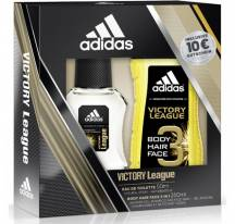 Adidas eau de toilette + shower gel