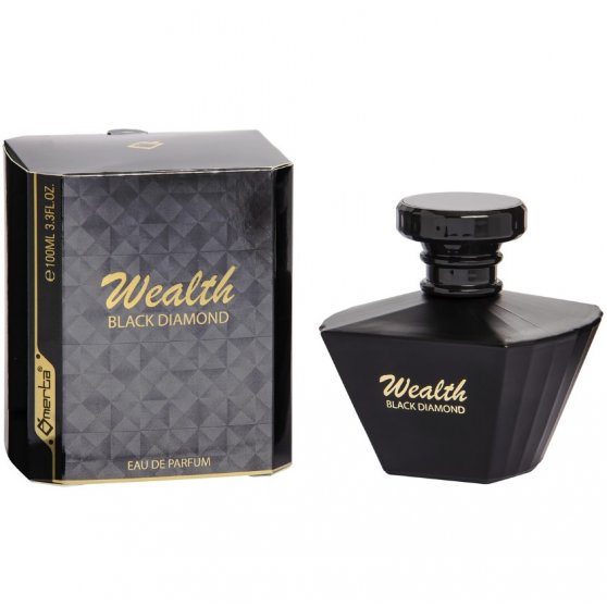 Eau de parfum Wealth black diamond - Omerta