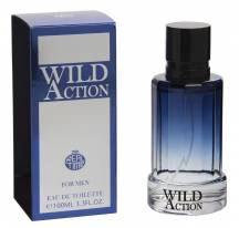 Parfum Wild action - Real time