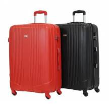 "ALISTAIR ""AIRO"" SET DE 2 GRANDS VALISES 75CM RED & BLACK"