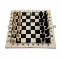 Chess game wood