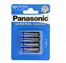 AAA battery 1.5 V Panasonic