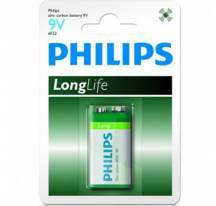 Bateria 9V Philips Longlife