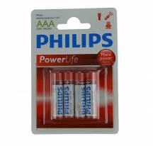 Battery Philips PowerLife Alkaline AAA