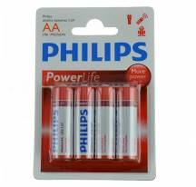 Battery Philips PowerLife Alkaline AA