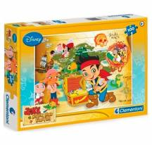 Puzzel Disney Jake en de piraten 100st