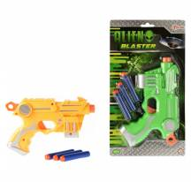 Alien blaster, pistolet do pianki rzutki