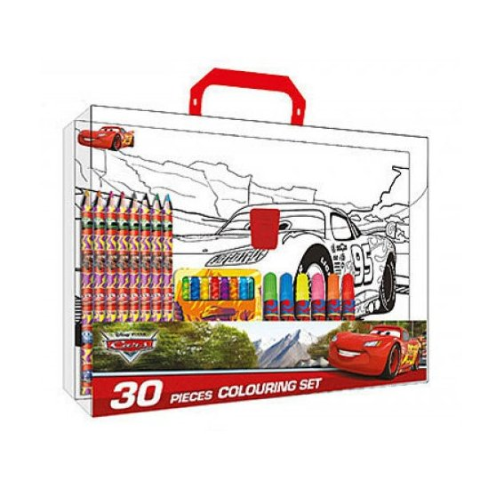 Coloriage Cars.Mallette Coloriage Cars Markers Crayons Colored Pencils Pastels