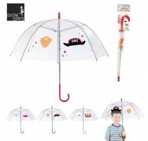 Parapluie photobooth transparent enfant