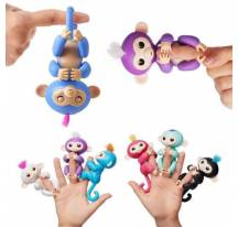 Fingerlings bébé singe interactif doigt
