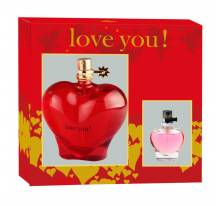 Coffret eau de parfum love you