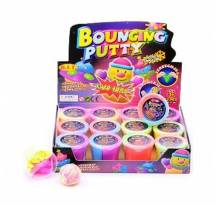 Dough bouncing color