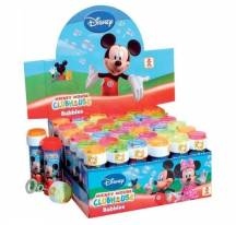 Soap bubbles Mickey mouse