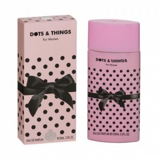 Parfum Dots and things pink