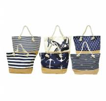 Collection beach bags marine