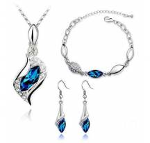 Adornment jewelry blue