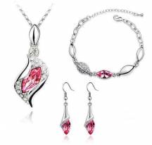 Adornment jewelry pink