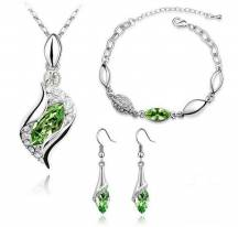 Adornment jewelry green