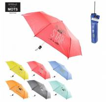 Compact umbrella in message