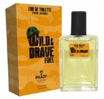 Eau de toilette Wild and Brave - Prady